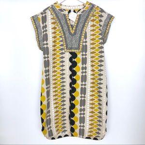 Uncle Frank Dress L Mod Shift Geometric Tribal